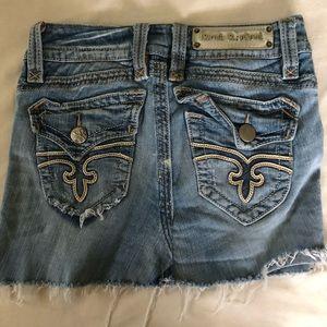 Rock Revival Jean Skirt